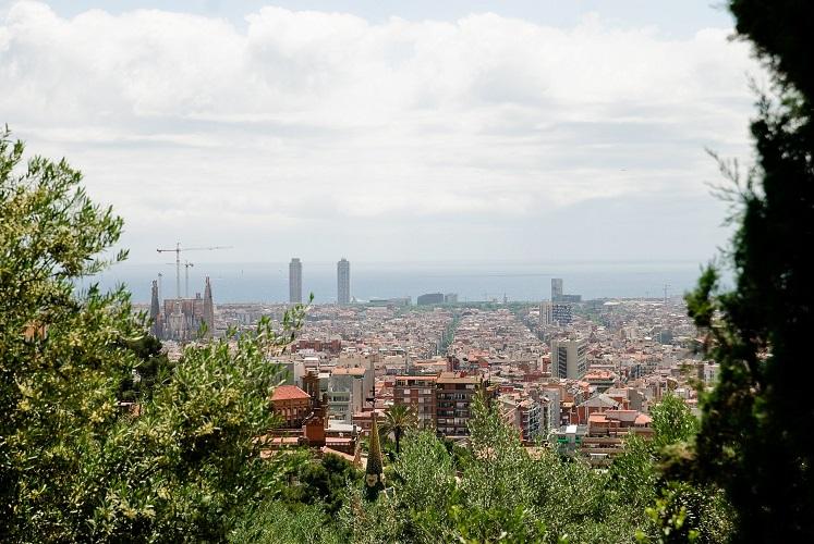 Barcelona w Katalonii, Hiszpania